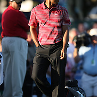 Tiger Woods plays PGA golf during the Bay HIll/ Arnold Palmer golf event. Tiger won the event..Tiger recently reported that he would drop off of the PGA tour events for the 2010 season due to the publicity surrounding him and wife Elin Nordegeren. Tiger also won the Athlete of the Decade award voted by the Associated Press. Photo Credit: Alex Menendez