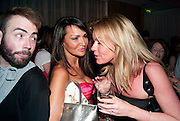LIZZIE CUNDY, AFTER-PARTY FOR GHOST. St. Martin's Lane hotel London. 14 July 2010. -DO NOT ARCHIVE-© Copyright Photograph by Dafydd Jones. 248 Clapham Rd. London SW9 0PZ. Tel 0207 820 0771. www.dafjones.com.