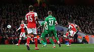 Arsenal v Ludogorets Razgrad 19/10/2016
