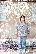 Vickie Wilkerson, 46, poses for a photo on October 3, 2016 in Shreveport, Louisiana. (Cooper Neill for The New York Times)