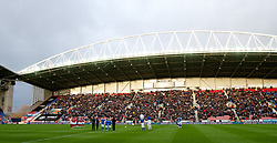 03.12.2011, DW Stadium, Wigan, ENG, Premier League, Wigan Athletic vs FC Arsenal, 14. Spieltag, im Bild Arsenal and Wigan Athletic // during the football match of english Premier League, 14th round between Wigan Athletic an FC Arsenal at DW Stadium, Wigan, ENG on 2011/12/03. EXPA Pictures © 2011, PhotoCredit: EXPA/ Sportida/ David Rawcliff..***** ATTENTION - OUT OF ENG, GBR, UK *****