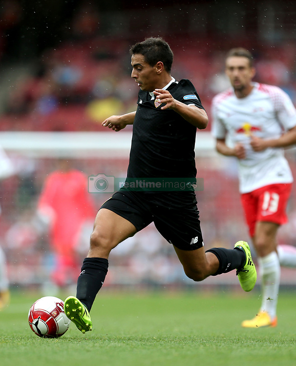 Sevilla's Wissam Ben Yedder in action