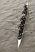 Chiswick, London. ENGLAND,11.03.2006, Sen women's Composite crew Birmhm, U/Mlw/Read U/Rebc/Thames/TSS. pass under,  Chiswick Bridge, during the 2006 Women's Head of the River Race,  Mortlake to Putney  on Saturday 11th March    © Peter Spurrier/Intersport-images.com.. 2006 Women's Head of the River Race. Rowing Course: River Thames, Championship course, Putney to Mortlake 4.25 Miles