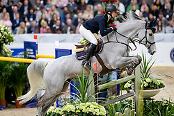 MARTINSEN Karin (SWE), Stenhaga Tulip Tattoo<br /> Göteborg - Gothenburg Horse Show 2019 <br /> Gothenburg Trophy presented by VOLVO<br /> Int. jumping competition with jump-off (1.55 m)<br /> Longines FEI Jumping World Cup™ Final and FEI Dressage World Cup™ Final<br /> 06. April 2019<br /> © www.sportfotos-lafrentz.de/Stefan Lafrentz