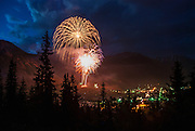 Fourth of July booms over the small town of Silverton, a community who takes thier fireworks display very seriously each year.