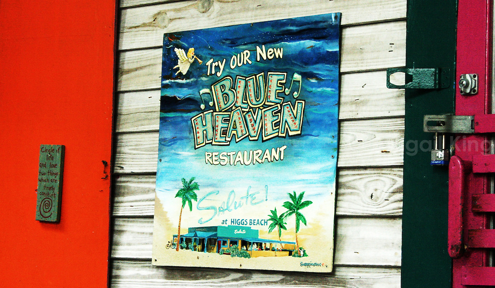 Images from the Florida Keys, featuring butterflies and blueberry pancakes, signs from Sloppy Joe's, dolphins, Key Lime and more...
