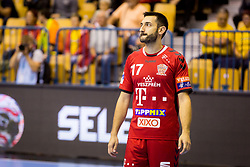 Dragan Gajic of Telekom Veszprem HC during handball match between RK Celje Pivovarna Lasko and Telekom Veszprem in 1st round of VELUX EHF Champions League, on September 16, 2017 in Arena Zlatorog, Celje, Slovenia. Photo by Ziga Zupan / Sportida