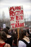 manifestations étudiantes du 22 mars 2012 à Montréal