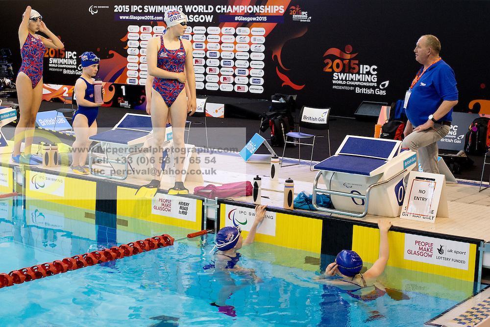Activation Performance Program Training  at 2015 IPC Swimming World Championships -