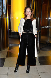 """RUTH WILSON at a private view of Undressed: A Brief History Of Underwear"""" at the V&A, London on 13th April 2016."""