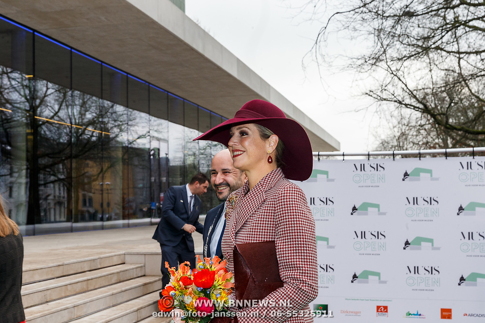 NLD/Arnhem/20180112 - Maxima opent Musis, Maxima verwelkomt