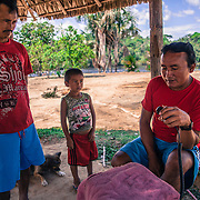 The only way of communication some communities have to talk to the other communities and the nearest town is just a small radio