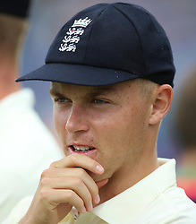 England's Sam Curran during day three of the Second NatWest Test match at Headingley, Leeds. PRESS ASSOCIATION Photo. Picture date: Sunday June 3, 2018. See PA story CRICKET England. Photo credit should read: Nigel French/PA Wire. RESTRICTIONS: Editorial use only. No commercial use without prior written consent of the ECB. Still image use only. No moving images to emulate broadcast. No removing or obscuring of sponsor logos.
