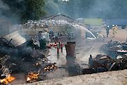 Brand bij metaalrecycling bedrijf Enschede