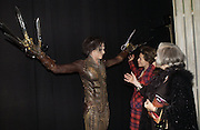 """SAM ARCHER, HELENA BONHAM-CARTER AND HER MOTHER  Elene Proper De Callejon . World Premiere of the theatrical production of """"Edward Scissorhands"""" at Sadler's Wells Theatre in London. 30 November 2005. ONE TIME USE ONLY - DO NOT ARCHIVE  © Copyright Photograph by Dafydd Jones 66 Stockwell Park Rd. London SW9 0DA Tel 020 7733 0108 www.dafjones.com"""
