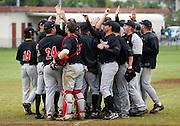 Howick-Pakuranga celebrate victory. New Zealand Baseball Nationals Final, Howick-Pakuranga v Westcity-Metro, Crossfields Reserve, Auckland, Sunday 11 March 2012. Photo: Simon Watts/photosport.co.nz