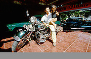 Denpasar. President of the Bali Harley Club.