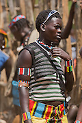 Africa, Ethiopia, Omo region, Ari Tribe man Photographed at the cattle market