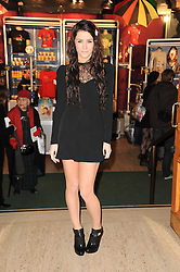 Singer LUCIE JONES at the gala opening night of Cirque du Soleil's Varekai at the Royal Albert Hall, London on 5th January 2010.