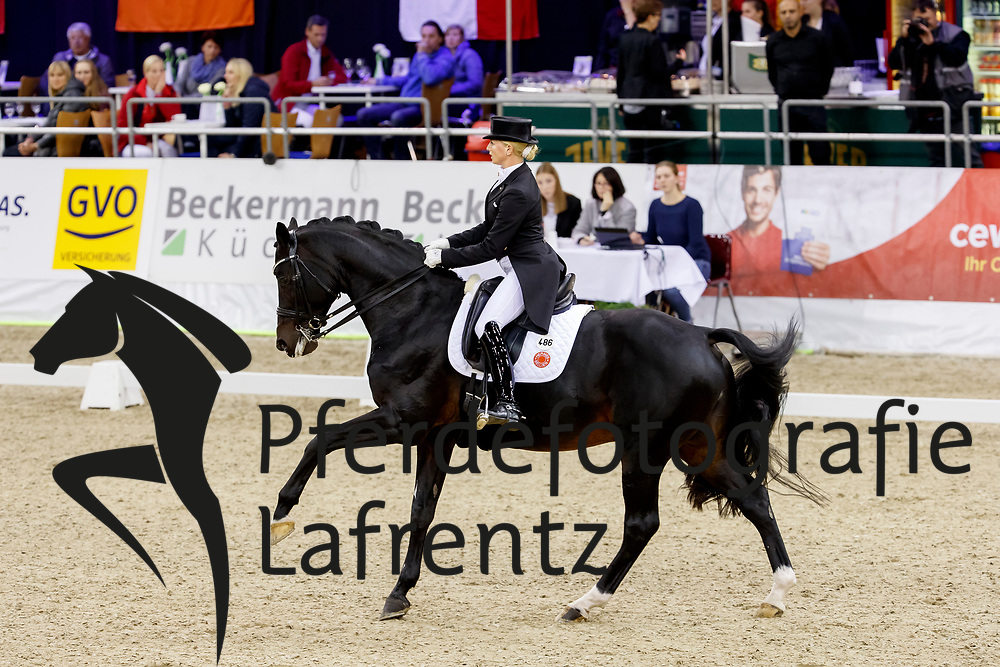 Bredow-Werndl, Jessica (GER) Unee BB<br /> Oldenburg - AGRAVIS Cup 2017<br /> © www.sportfotos-lafrentz.de/Stefan Lafrentz