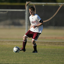 Jan 6, 2010: Action from boys high school soccer between the Amite Warriors and the St. Thomas Aquinas Falcons at Falcons Soccer Field in Hammond, LA.