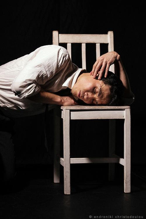 Kentaro Suyama, dancer in the dace duo TARINAINANIKA that is based in Tokyo