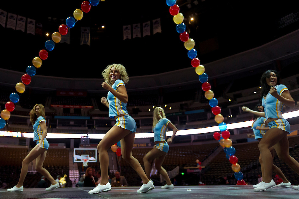 A party unveiling Colorado Drives with auto dealers throughout the Denver metro area at the Pepsi Center in Denver on Thursday, Nov. 8, 2012. (Photo by Daniel Petty)