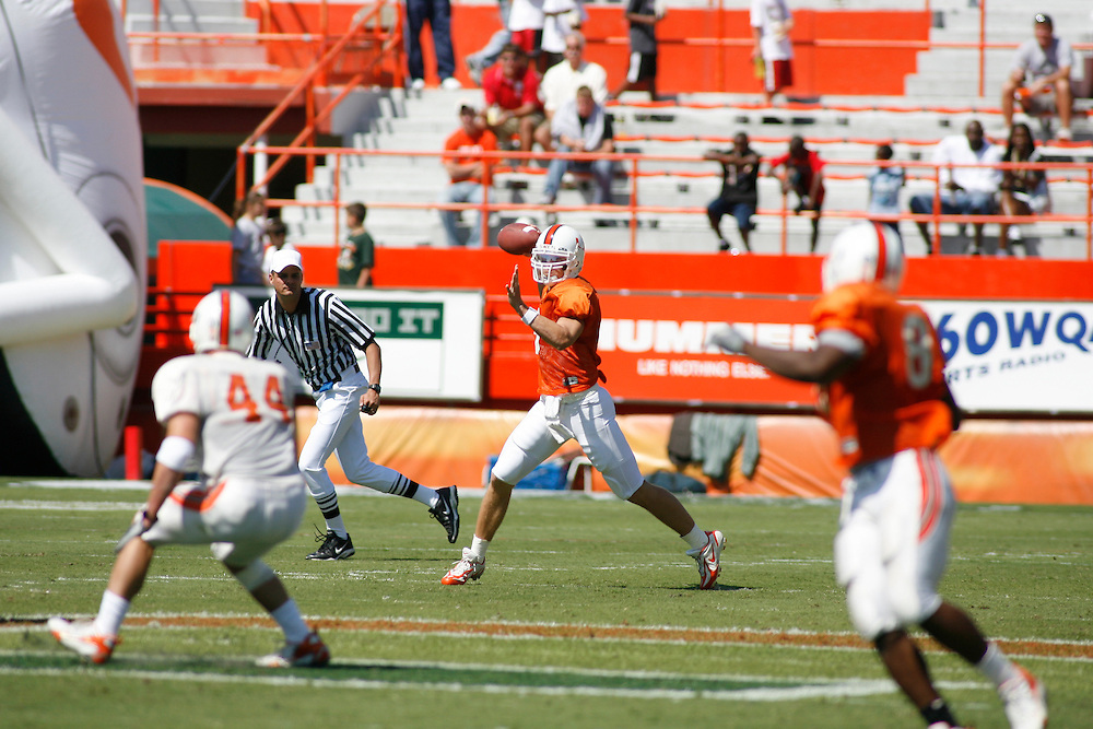 University of Miami Football Spring Game, April 7, 2007.