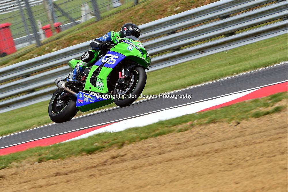 #45 Tom Fisher Nottingham G & S Racing Kawasaki Kawasaki Pirelli National Superstock 1000 Championship
