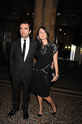 MARY McCARTNEY and SIMON ABOUD at British Style Observed - part of National Magazine's 30 Days of Fashion & Beauty festival featuring photographs by Mary McCartney with proceeds from the evening going to Macmillan Cancer Care held at the Natural History Museum, Cromwell Road, London on 16th September 2008.