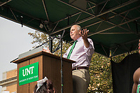 2017 11 06 <br /> <br /> The University of North Texas kicks off Homecoming with a Picnic at the Library Mall. Students, faculty and staff enjoyed free food, music, and speech from UNT President Neil Smatresk. The 2017 Homecoming theme is Deep in the Heart of Texas