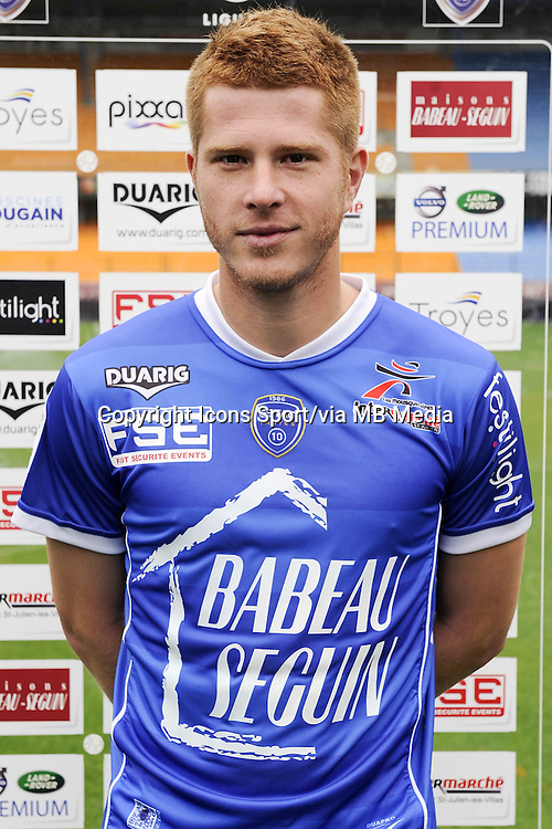 Stephane DROUIN - 11.09.2013 - Photo Officielle - Troyes<br /> Photo : Icon Sport