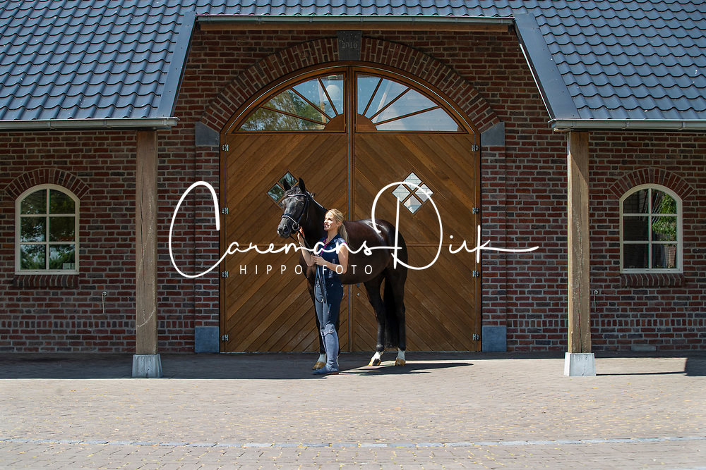Donkers Esmee, NED, Kyra-May<br /> Stal Donkers - Venray 2019<br /> © Hippo Foto - Dirk Caremans<br /> 07/06/2019