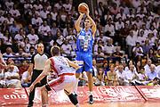 DESCRIZIONE : Campionato 2014/15 Serie A Beko Grissin Bon Reggio Emilia - Dinamo Banco di Sardegna Sassari Finale Playoff Gara7 Scudetto<br /> GIOCATORE : Giacomo Devecchi<br /> CATEGORIA : Tiro Tre Punti Three Point<br /> SQUADRA : Dinamo Banco di Sardegna Sassari<br /> EVENTO : LegaBasket Serie A Beko 2014/2015<br /> GARA : Grissin Bon Reggio Emilia - Dinamo Banco di Sardegna Sassari Finale Playoff Gara7 Scudetto<br /> DATA : 26/06/2015<br /> SPORT : Pallacanestro <br /> AUTORE : Agenzia Ciamillo-Castoria/L.Canu
