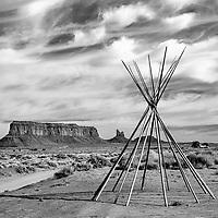 Teepee, Monument Vally, Navajo Nation, Arizona