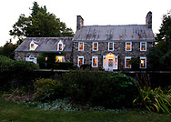 Historical House Tour, Fitchburg, 2010, Exterior, Bogdesarian House, 100 Flat Rock Road, Magic Hour, Image by Charles Sternaimolo