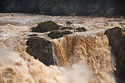 Barron falls after Cyclone Ita, 2014, Kuranda, North Queensland