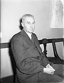 1956 - Dr. John B. O'Regan, Medical Officer of Health for Dublin City.