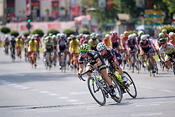 Sara Mustonen (Liv Plantur) sets the pace at Madrid Challenge by La Vuelta an 87km road race in Madrid, Spain on 11th September 2016.