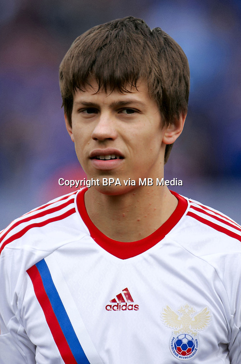 Football Fifa Brazil 2014 World Cup / <br /> Russia National Team - <br /> Fyodor Smolov of Russia