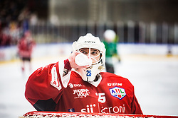 KOGOVSEK Ziga during the match between HDD Jesenice vs HK SZ Olimpia at 16th International Summer Hockey League Bled 2019 on 24th August 2019. Photo by Peter Podobnik / Sportida