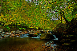 08 October 2016:  Little River,  Great Smoky Mountain National Park.<br /> <br /> High Dynamic Range processing