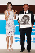 Queen Letizia and Queen Sofia expects the Spanish UNICEF awards in 2015 at the Auditorium CSIC in Madrid, Spain .<br /> ©Exclusivepix Media