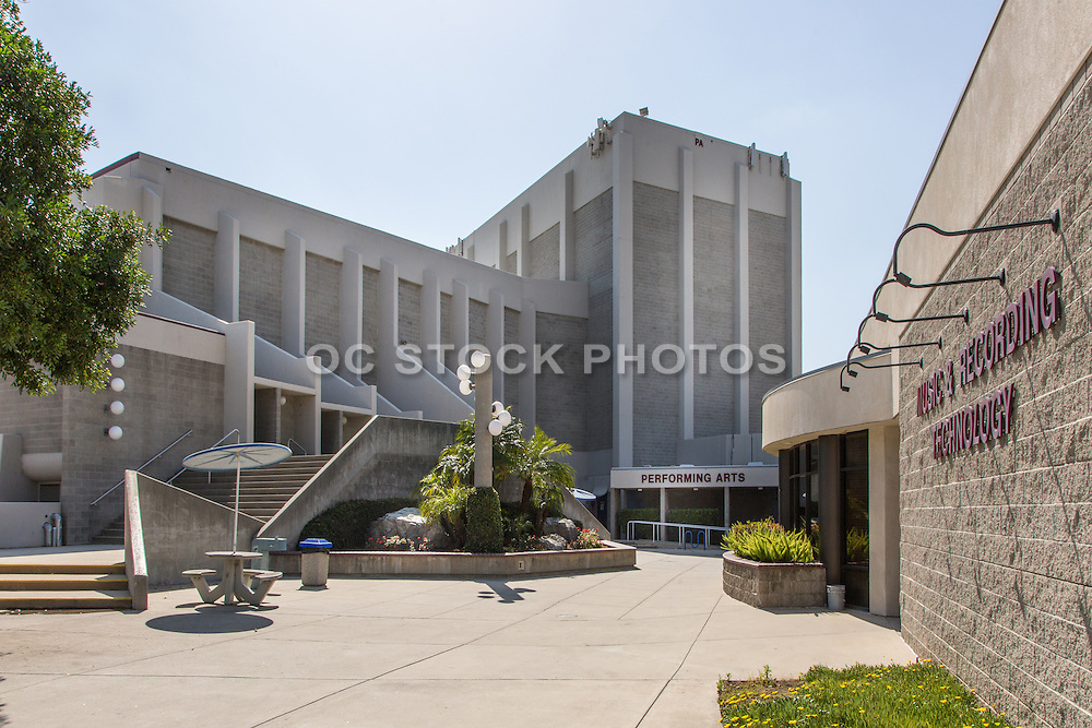 Music & Recording Technology and the Performing Arts Building at Citrus College