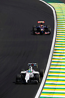 MASSA Felipe (Bra) Williams F1 Mercedes Fw36 action KVYAT Daniil (Rus) Toro Rosso Str9 Renault action   during the 2014 Formula One World Championship, Brazil Grand Prix from November 6th to 9th 2014 in Sao Paulo, Brazil. Photo Frederic Le Floch / DPPI.