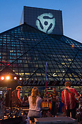 Phosphorescent at the Rock And Roll Hall of Fame concert photography by Cleveland music photographer Mara Robinson Photography