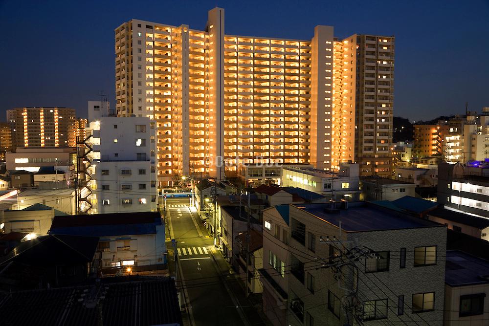 residential apartment high rise Japan Yokosuka