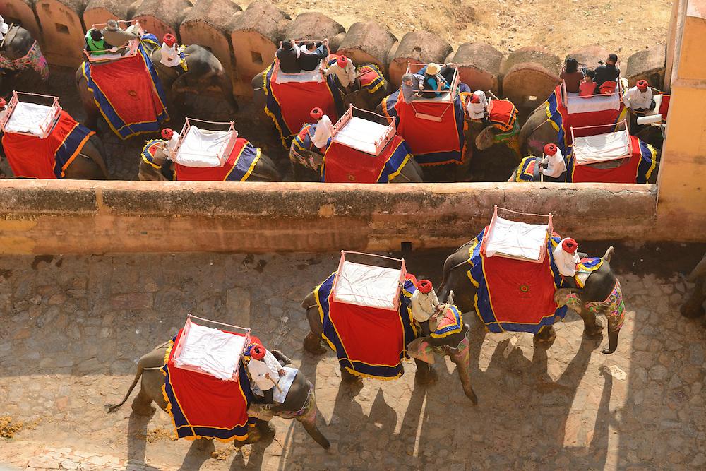 Amber Fort, city of Jaipur,Rajasthan, India