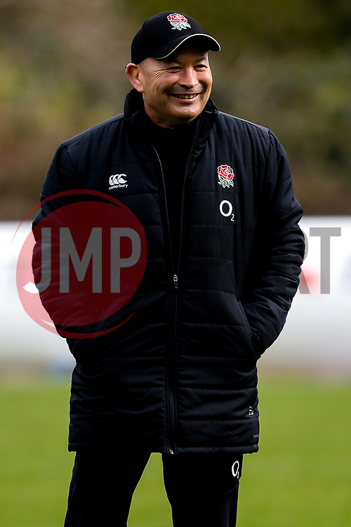 England Head Coach Eddie Jones - Mandatory by-line: Robbie Stephenson/JMP - 08/03/2019 - RUGBY - England - Training session ahead of Guinness Six Nations match against Italy