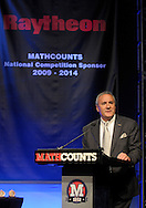 Raytheon Chairman and CEO William H. Swanson addresses participants and spectators during the Raytheon MATHCOUNTS National Competition, which showcased the nation's top 224 middle school math students from approximately 100,000 year-long participants, in Lake Buena Vista, Fla., Friday, May 11, 2012. (Photo by Phelan M. Ebenhack/for Raytheon)